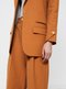double pleated ankle pants - cacao