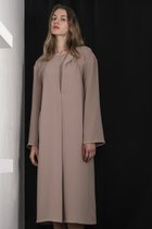 AKENO DRESS BEIGE