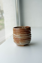 YAMA HANDCRAFTED TEA CUP SHINO GLAZED