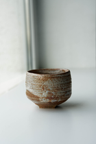 ABA HANDCRAFTED TEA CUP SHINO GLAZED