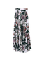 Camelia Maxi Skirt - flower pattern