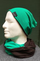 Men Beanies & Scarves SD7003251 - grass green /chocolate-brown