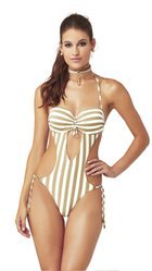 GLAMOUR one-piece swimsuit  -  S773