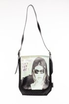 MEDIUM BAG WITH LONG COVER Black & sunglasses cover