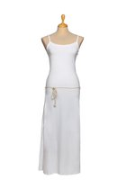 DANUTA maxi dress white