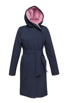 GERTRUD winter coat dark blue-rose